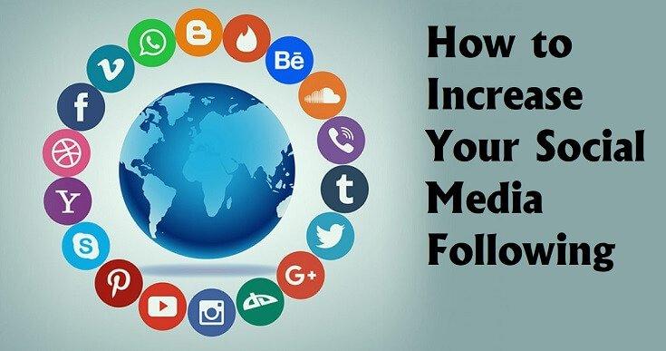Increasing Social Media Following