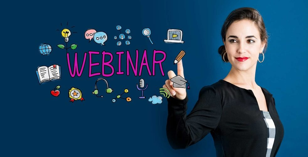 promote your business using webinars