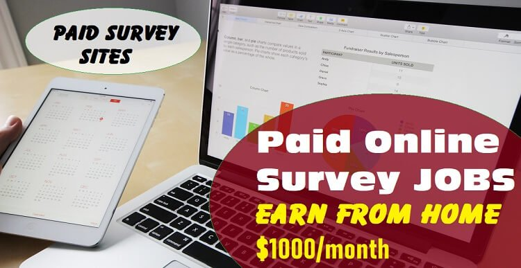 Online Paid Survey Jobs