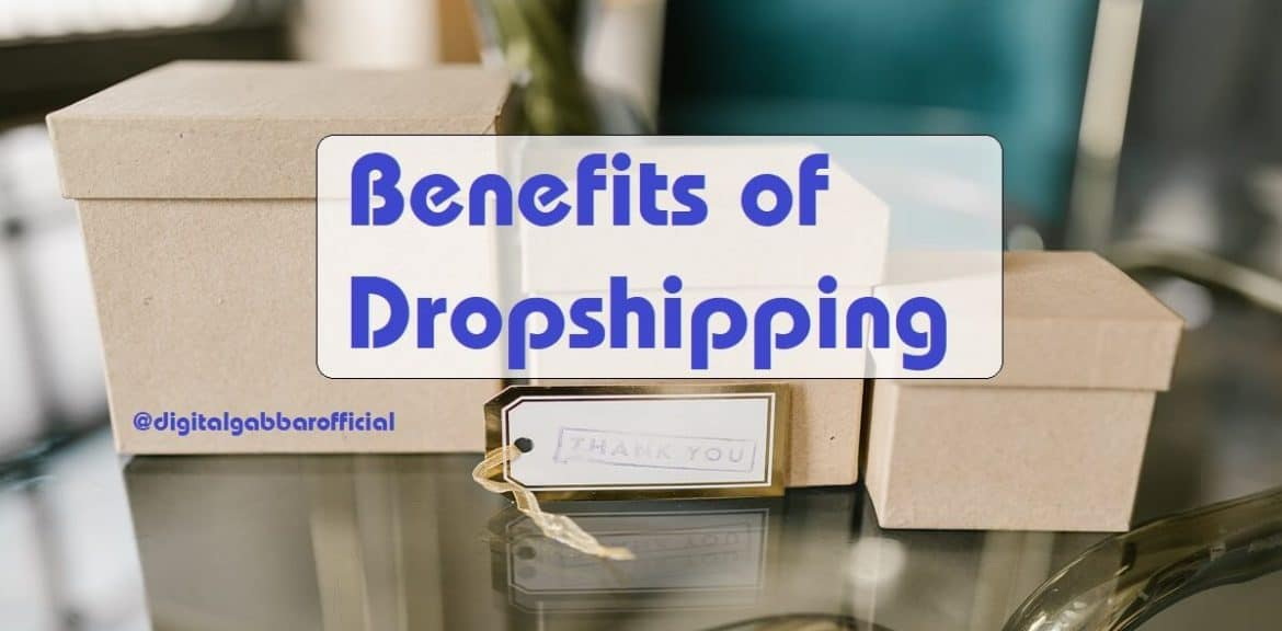 Benefits of Dropshipping Business
